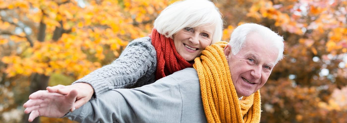 Fit und gesund bis ins hohe Alter